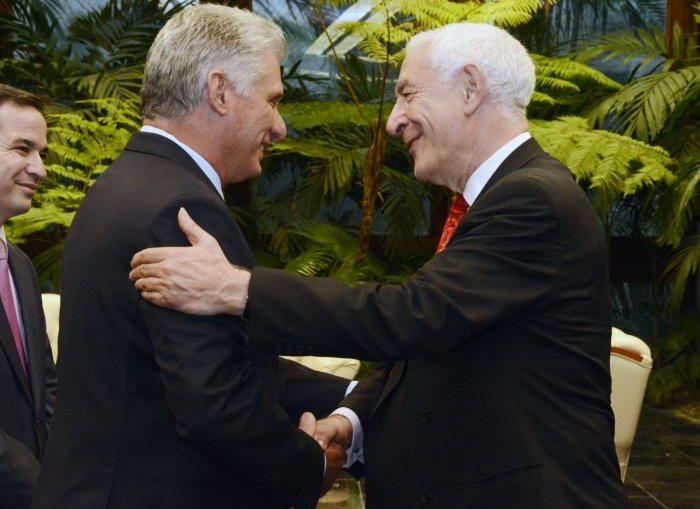 La visita representa la concreción del relanzamiento de la Iniciativa Cuba, en correspondencia con la voluntad manifestada por ambas partes durante la estancia del Presidente Díaz-Canel en Londres, en noviembre de 2018.