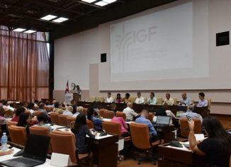 El primer Foro Nacional de Gobernanza en Internet concluyó este jueves en La Habana. El foro forma parte de los esfuerzos gubernamentales por llevar adelante el programa de informatización de la sociedad.