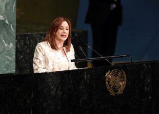 La presidenta de la Asamblea General de la ONU, María Fernanda Espinosa, aseguró que el aumento de las medidas unilaterales y sanciones de Estados Unidos contra Cuba provocan mayores afectaciones al pueblo de la isla.