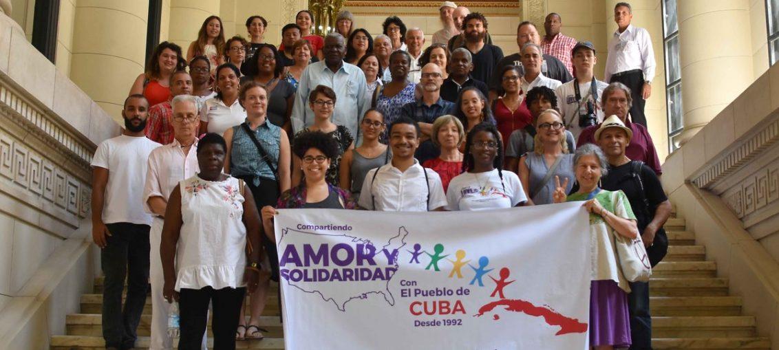 Los integrantes del grupo de solidaridad conocieron la labor de los miembros de la Asamblea Nacional del Poder Popular.