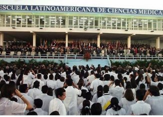 Con esta promoción sobrepasan los 29 mil galenos de más de un centenar de naciones formados mediante este proyecto de integración, fundado por el Comandante en Jefe Fidel Castro el 15 de noviembre de 1999.