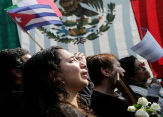 La jornada fue organizada por las Redes de Resistencia y Rebeldía, Redes de Apoyo al Consejo Indígena de Gobierno, Sindicato Mexicano de Electricistas y Movimiento de Solidaridad con Cuba.