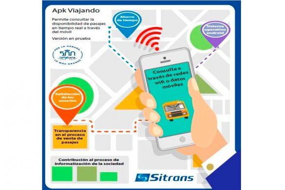 La aplicación permite al usuario, una vez establecido el origen, destino y fecha, conocer todas las capacidades de pasaje disponibles para la ruta seleccionada; también se puede contar con información para un rango de fechas próximas a la deseada.