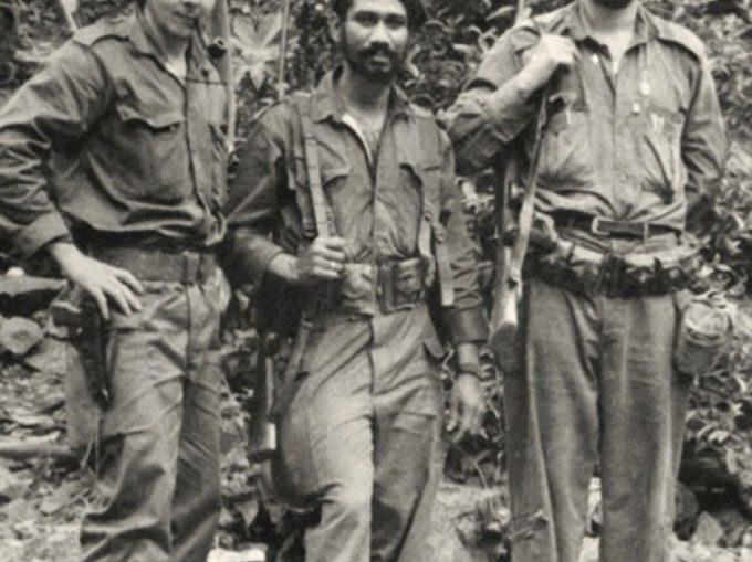 Entereza y valentía sellaron siempre su personalidad en el combate. Nadie dudó ante su nombramiento en febrero de 1958, como comandante.