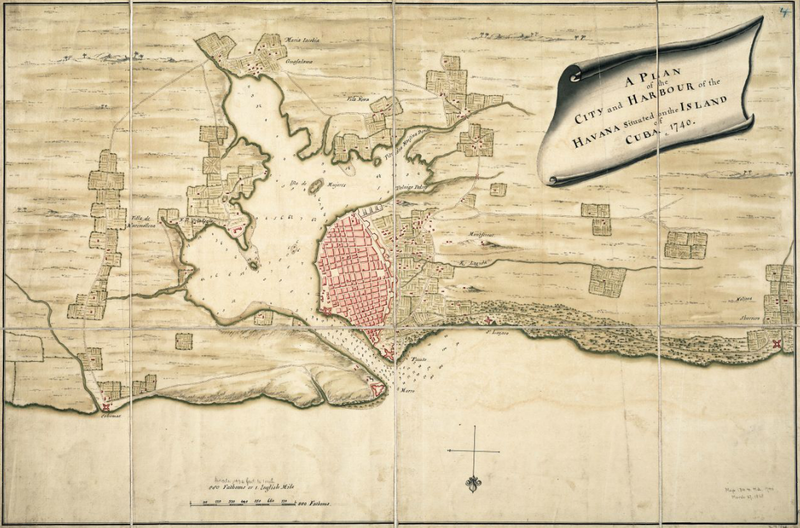 Por su ubicación geográfica la Bahía de La Habana tuvo una importancia vital en el intercambio entre España y el Nuevo Mundo.