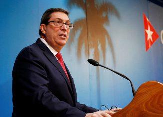 El Jefe de la diplomacia cubana expresó su preocupación por la respuesta de Washington ante una economía sacudida por la guerra comercial del presidente Donald Trump contra China.
