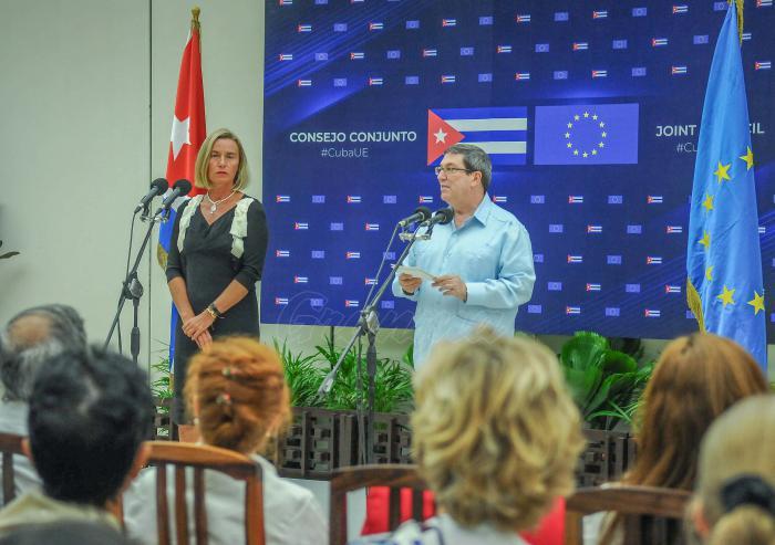 En este Segundo Consejo Conjunto se evaluó la instrumentación del Acuerdo de Diálogo Político y Cooperación, que entró en vigor el 1ro. de noviembre de 2017, y donde se establecieron las bases de un nuevo marco para los vínculos mutuos.