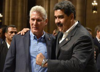 El Presidente de los Consejos de Estado y de Ministros, Miguel Díaz-Canel Bermúdez, en su cuenta de la red social twitter dedicó un mensaje al respaldo incondicional de la mayor de las Antillas a la Revolución Bolivariana y Chavista.
