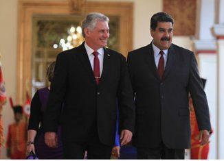 El presidente cubano señaló que los médicos, maestros, deportistas y trabajadores de la cultura de la mayor de las Antillas favorecen el avance de la Patria de Bolívar.