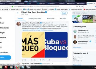 El dignatario cubano informó recientemente que esa política de castigo de Washington afecta fundamentalmente la movilidad de alimentos, la transportación obrera y pública, y la generación eléctrica en los horarios de mayor demanda.