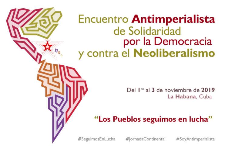 La Habana vuelve a ser punto de encuentro para quienes defienden la paz, la solidaridad entre los pueblos, la justicia y la democracia, sustentada en un verdadero poder de las masas progresistas.