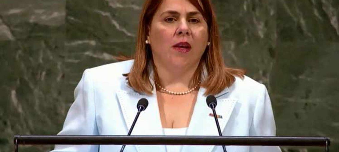La representante permanente alterna de la Isla ante la ONU, Ana Silvia Rodríguez, cuestionó cómo se podrá erradicar la pobreza en todas sus formas y dimensiones, si naciones como EE.UU. dedican multimillonarios recursos en gastos militares.