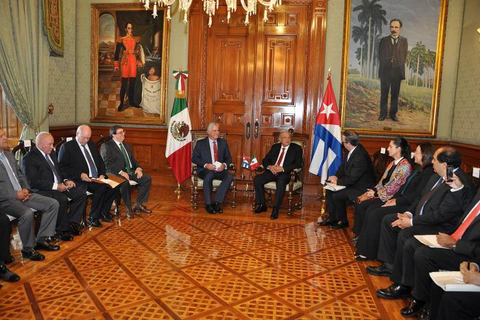 Ambas delegaciones exploraron nuevas posibilidades de cooperación.