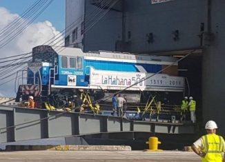 Las máquinas, de la marca TGM-8, alcanzan una velocidad máxima de 80 Km por hora y serán utilizadas en el transporte de carga, fundamentalmente en el sector de la industria azucarera.