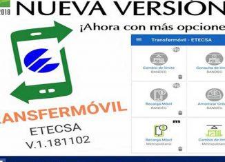 La aplicación incluirá el servicio de pagos a terceros y la compra virtual en las tiendas CIMEX.