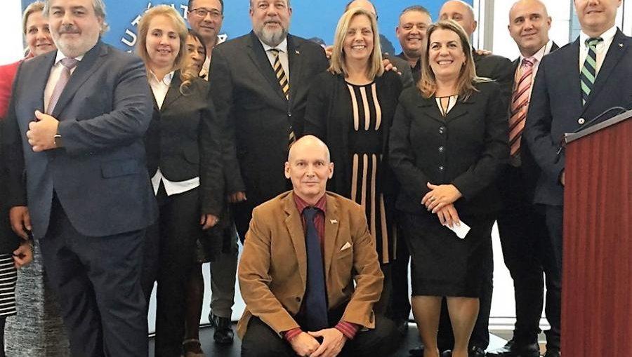 El ministro cubano de Turismo, Manuel Marrero, desarrolla una amplia agenda de actividades en la nación norteña principal emisor de viajeros a la Isla.