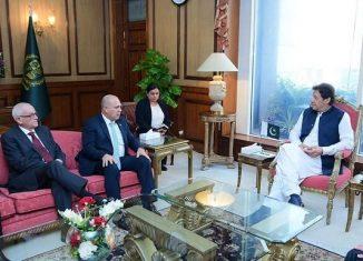 Morales Ojeda fue recibido por Arif Alvi, presidente de Pakistán y por el primer ministro, Imran Khan, con los que intercambió sobre temas de la agenda bilateral e internacional.