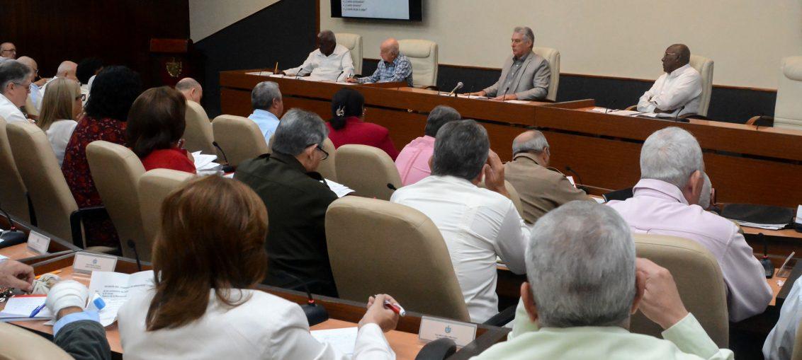 El Presidente de la República dialógo, mediante videoconferencia, con directivos territoriales sobre importantes temas para el desarrollo del país.