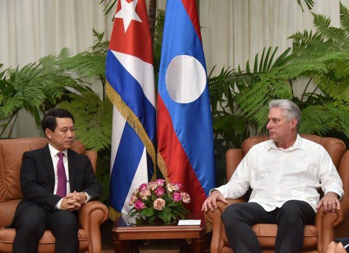 Ambas partes ratificaron la determinación de seguir profundizando los históricos lazos de hermandad entre ambas naciones.