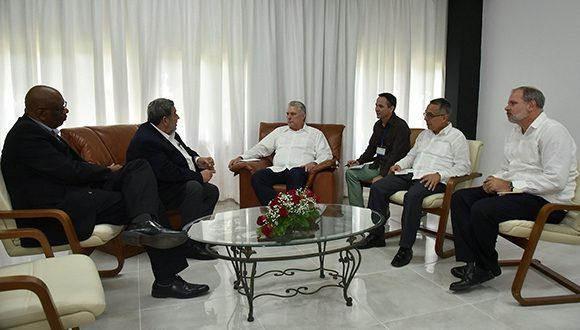 Destacaron la necesidad de fortalecer la unidad regional ante la agresiva escalada de acciones contra la paz y la seguridad, la cual atenta contra la Proclama de América Latina y el Caribe como Zona de Paz
