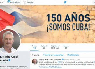 En su cuenta en twitter, precisó que el gobierno de Donal Trump acude a maniobras para impedir el apoyo a un dictamen que ha sido aprobado por la mayoría de los países de la ONU.