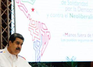 El mandatario bolivariano recordó que Cuba fue la primera nación en convocar a otros pueblos de América a unirse para enfrentar al imperialismo.