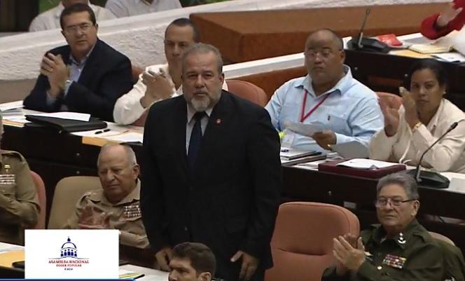 Según la Disposición Transitoria de la Constitución, «una vez elegido, el Presidente de la República, en el plazo de 3 meses, propone al Parlamento cubano la designación del Primer Ministro, Viceprimeros Ministros, el Secretario y demás miembros del Consejo de Ministros.