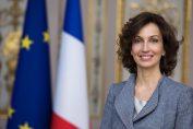 Azoulay, en el cargo desde el 15 de noviembre de 2017, es una alta funcionaria y política francesa, fue consejera cultural del presidente François Hollande (2014-2016) y ministra de Cultura y Comunicación de 2016 a 2017.