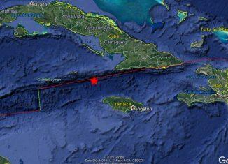 No se reportaban daños humanos ni materiales en Santiago de Cuba, cuya población vivió lógicos momentos de alarma.