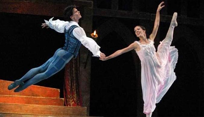 versión del pas de deux Romeo y Julieta