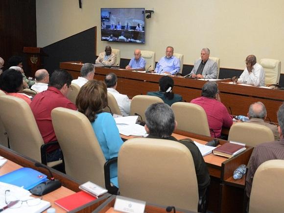 La agenda del máximo órgano de Gobierno analizó el Plan de Ordenamiento Territorial y Urbano de la provincia de Holguín, los resultados del primer control integral estatal al Grupo Empresarial de la Industria Sidero-Mecánica, Gesime.