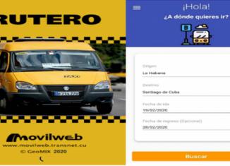 A partir del mes de abril estará disponible una nueva versión de la aplicación Viajando que permitirá la compra online de reservaciones. Igualmente informó en el programa televisivo el desarrollo de una apk para el control de las llamadas gazellas.