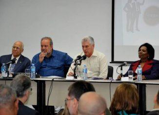 La ministra presidenta del Banco Central de Cuba, Marta Sabina Wilson, al presentar el informe, llamó la atención sobre las prioridades de trabajo de la banca cubana en 2020, relacionadas con el ordenamiento monetario del país y la política financiera.