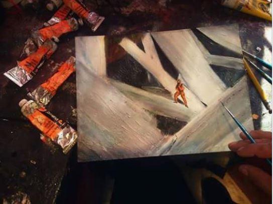victor cruz el pintor de las cuevas