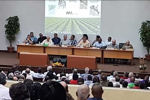 A pesar de todas las limitaciones, el sistema de la africultura preve en dos mil 20 crecer en producciones tales como arroz, huevos, carne de cerdo, maiz para alimento animal, cafe y tabaco torcido para la exportacion.