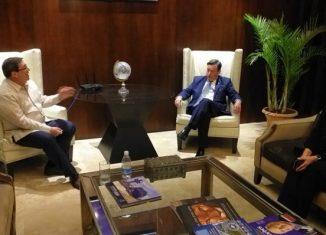 Como parte de la agenda del jefe de la diplomacia cubana, están las conversaciones oficiales con su homólogo, Alejandro Ferrer, y un recorrido por la Cancillería, ubicada en el Palacio Simón Bolívar, sede del Congreso Anfictiónico convocado por El Libertador en 1826.
