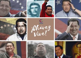 La resistencia del pueblo venezolano a las agresiones de Estados Unidos y sus secuaces de la OEA es una muestra de la vigencia de los ideales del Comandante Chávez.