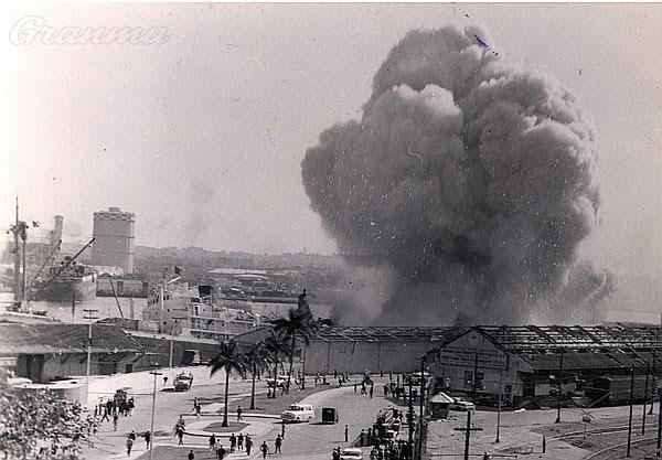 Miguel Díaz-Canel Bermúdez se refirió así al atentado terrorista un barco en el puerto de La Habana, donde dos explosiones provocadas provocaron 101 muertos y 400 lesionados entre cubanos, españoles y franceses el 4 de marzo de 1960.