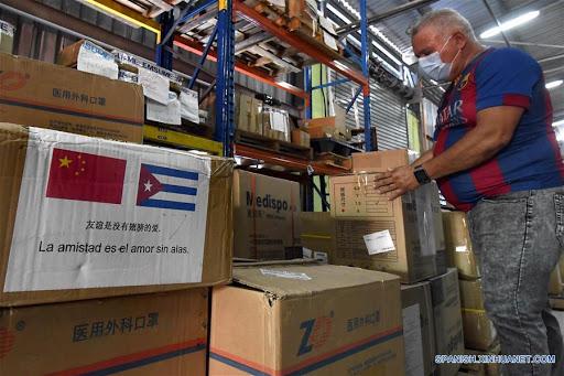 El cargamento se transportó desde la municipalidad de Shanghái (este) con toda la logística requerida, incluida la cadena de frío para garantizar su llegada a Cuba en óptimas condiciones.