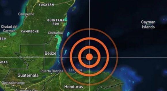 El movimiento telúrico también se pudo percibir en ciudades comoColón,PuertoCortezyLa Ceiba, en Honduras;Belmopán, Belice; Cancún, Quintana RooyVillahermosa, Tabascoen México, según los datos de la agencia sismológica USGS, recogidos porBNO News.