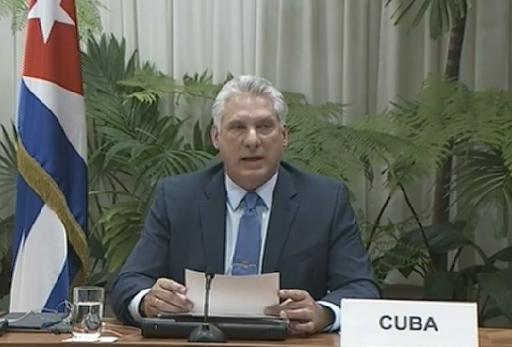 Durante su participación en la Cumbre Virtual del Grupo de Contacto del MNOAL, Miguel Díaz-Canel Bermúdez señaló que la COVID-19 ha demostrado ser un reto global. No distingue fronteras, ideologías o niveles de desarrollo. De ahí que la respuesta también debe ser global y mancomunada, superando las diferencias políticas.