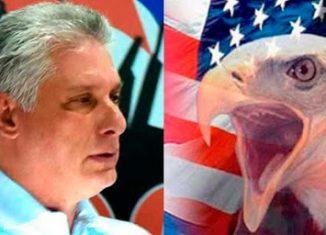 """!Inmoral! Estados Unidos rompe récord de cinismo y pasa del silencio a la injuria, al incluir a #Cuba en lista espuria"""", escribió el mandatario en su cuenta personal de Twitter."""