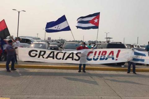Las tres principales fuerzas políticas de Honduras y otras dos bancadas en el Congreso Nacional coincidieron en un pronunciamiento unánime para agradecer el trabajo solidario de la Brigada Médica Cubana que combate la Covid-19 en ese país.