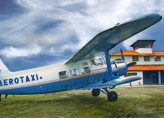 Las aeronaves equipos beneficiarán, entre otros, a dos sectores claves de la economía como la Agricultura y el Turismo, en un taller perteneciente a la Empresa Nacional de Servicios Aéreos (ENSA).