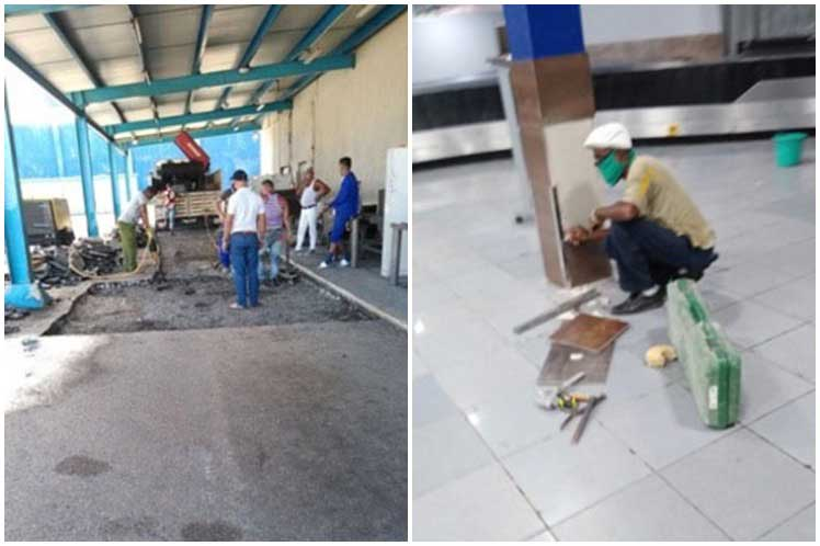 cvi 2405 Aeropuerto-reparaciones