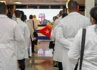 Estamos aplastando las intenciones del imperio de desacreditar la labor solidaria y ejemplar de las brigadas médicas cubanas