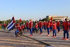 Con la presencia del primer ministro, Manuel Marrero Cruz, la delegación paralímpica cubana recibió en la mañana de este viernes la bandera que defenderá en la cita de Tokio, del 24 de agosto al 5 de septiembre.