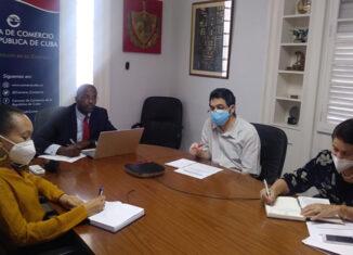 Ello transcurrió durante un encuentro de manera virtual entre Rubén Ramos Arrieta, vicepresidente de la Cámara de Comercio de Cuba, y Ouahiba Behloul, directora general de la Cámara de Comercio e Industria de Argelia.