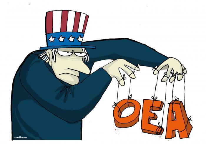 La Organización de Estados Americanos (OEA), sin moral y sin mandato, anunció una convocatoria en línea de su Consejo Permanente, a fin de «analizar» –dijo–, la situación en Cuba después de los disturbios acontecidos en el archipiélago.