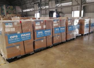 En las redes sociales, la oficina de la OPS/OMS Cuba dio a conocer que el cargamento incluye medicamentos, test de laboratorios y protectores faciales, así como otros medios de protección.